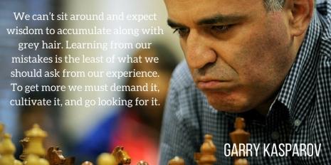Garry Kasparov - On Wisdom